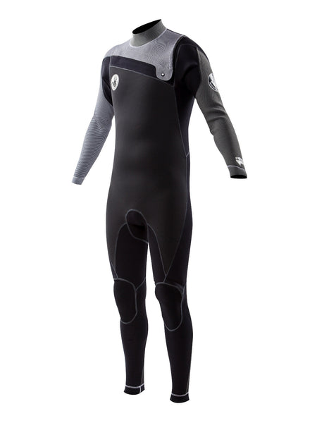 Trench Sports - Body Glove - PRIME (PR1ME) 3/2 MM Slant Zip Fullsuit White Grey