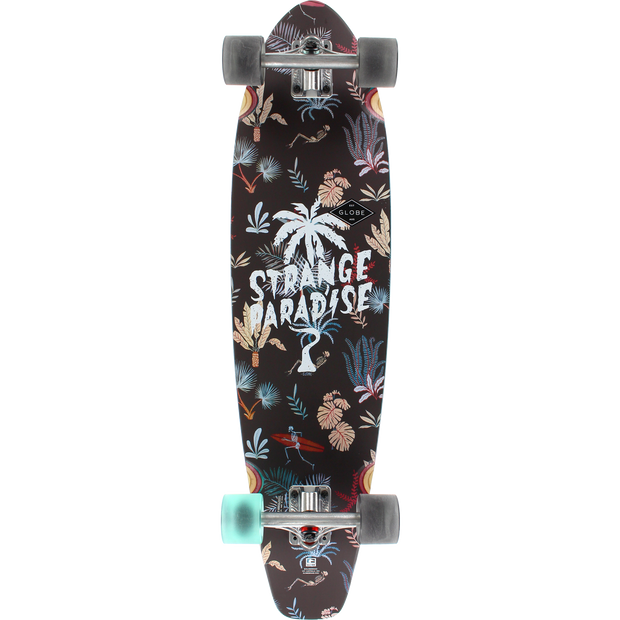 Trench Sports - Globe - All Time Strange Paradise Complete Longboard