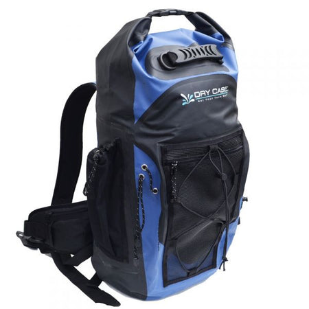 Trench Sports - DryCase - Masonboro Blue Waterproof 35L Adventure Backpack