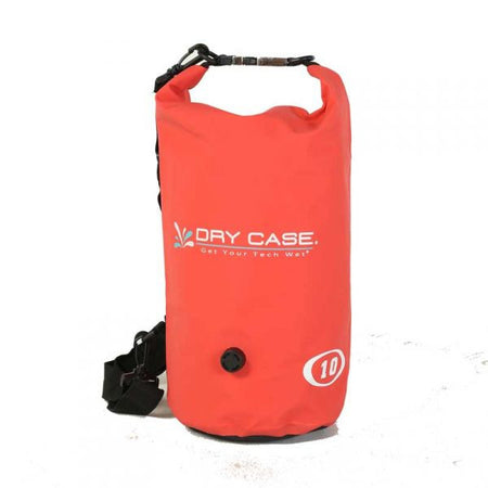 Trench Sports - DryCase - Deca Red Waterproof 10L Dry Bag