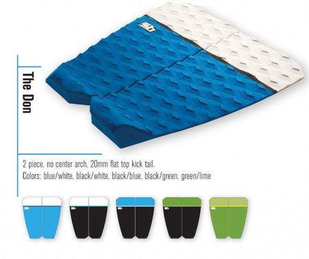 Trench Sports - Sticky Bumps - The Don Shortboard Traction Pad
