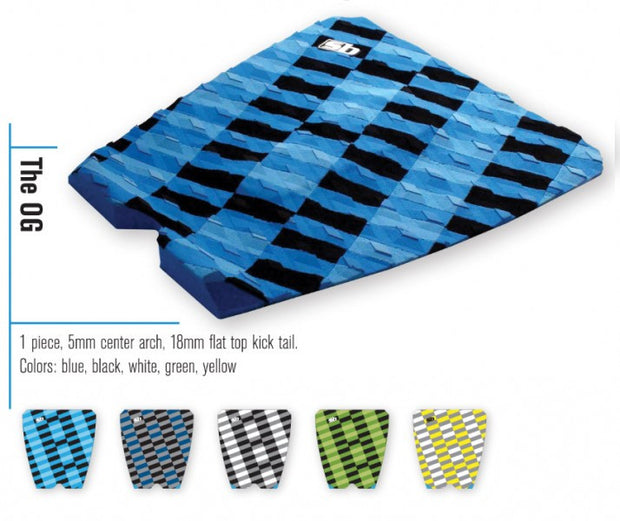 Trench Sports - Sticky Bumps - The OG Shortboard Traction Pad