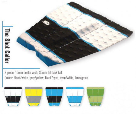 Trench Sports - Sticky Bumps - The Shot Caller Shortboard Traction Pad