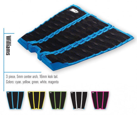 Trench Sports - Sticky Bumps - Williams Shortboard Traction Pad