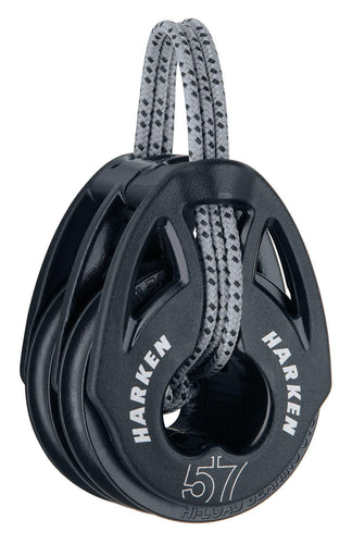 Harken 57mm T2 Double Carbo Block
