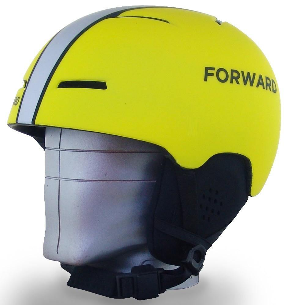 Neon Yellow X-Over Helmet