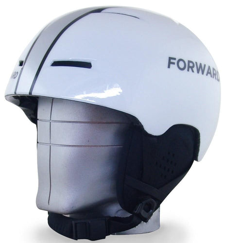 Shinny White X-Over Helmet