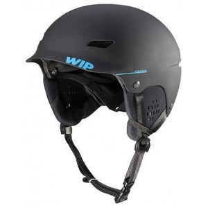 Black sailing helmet