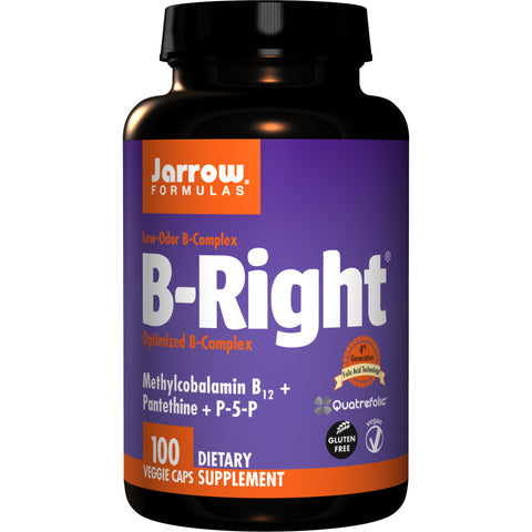 Jarrow Formulas B-Right 100 Veggie Capsules - Biosource Nutrition