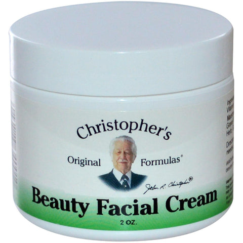 Christopher's Original Formulas Beauthy Facial Cream 2 oz - Biosource Nutrition