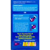 Bioglan Kids Smart Hi DHA Omega-3 Fish Oil 30 Chewable Busrtlets and Biosource Nutrition Pill Box - Biosource Nutrition