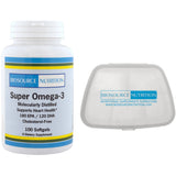 Biosource Nutrition Super Omega-3 100 Softgels and Pocket Pill Pack - Biosource Nutrition