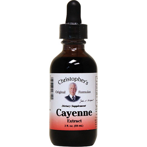Christopher's Original Formulas Cayenne Extract 40000 HU 2 Fl oz. - Biosource Nutrition
