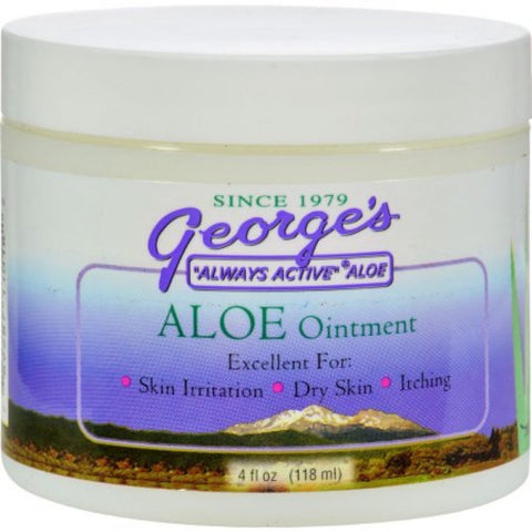 George's Aloe Ointment 4 fl oz - Biosource Nutrition