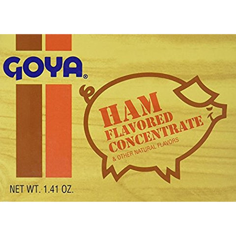 Goya Ham Flavored Concentrated Seasoning 1.41oz. Sabor a Jamon (2 Pack) - Biosource Nutrition
