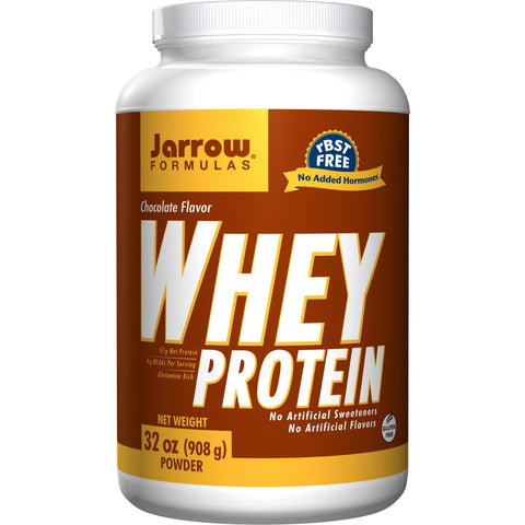 Jarrow Formulas Whey Protein Chocolate 32 oz (908 g) - Biosource Nutrition