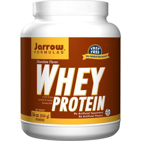 Jarrow Formulas Whey Protein Chocolate 16 oz (454 g) - Biosource Nutrition
