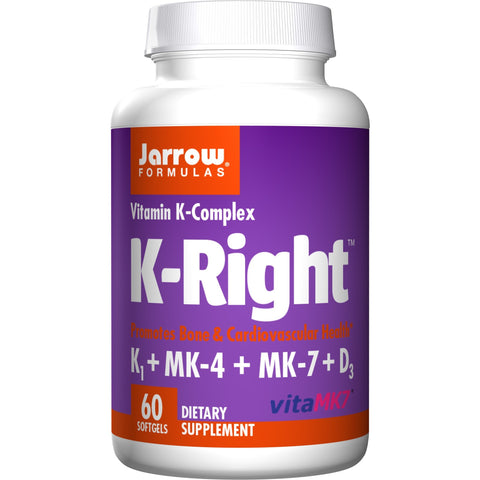 Jarrow Formulas K-Right 60 Softgels - Biosource Nutrition