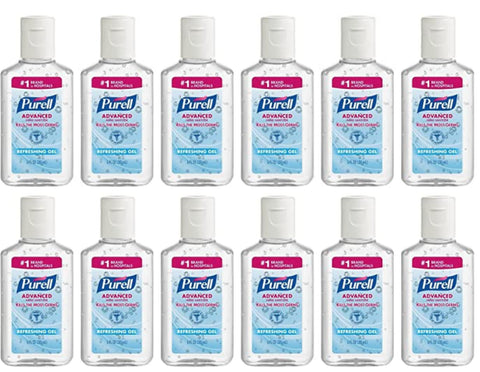 Purell Advanced Hand Sanitizer Gel 1 oz. (12 Pack)