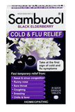 Sambucol Black Elderberry Cold and Flu Relief 30 Quick Dissolve Tablets - Biosource Nutrition