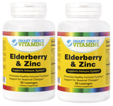 Smart Choice Vitamins Elderberry & Zinc 30 Lozenges (2 Pack)