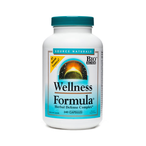 Source Naturals Wellness Formula Herbal Defense Complex 240 Capsules - Biosource Nutrition