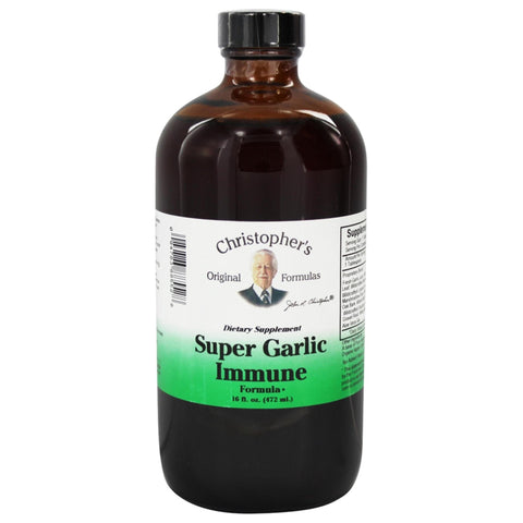 Christopher's Original Formulas Super Garlic Immune Syrup 16 oz.