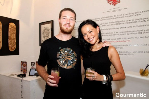 Smirnoff start pure gallery launch