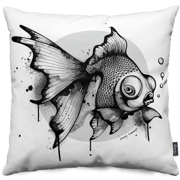 Kintoto Blot Throw Pillow