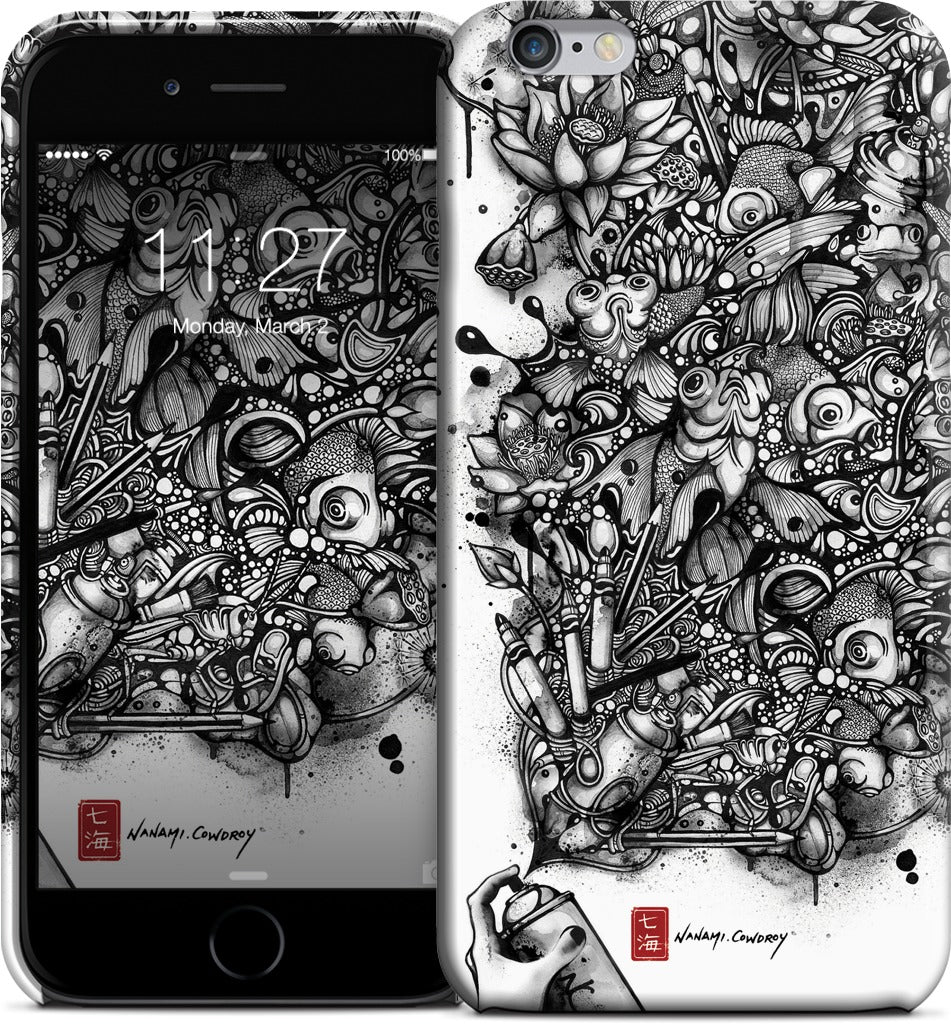 Ink Pond iPhone Case