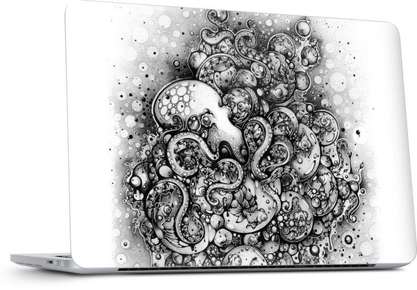 A Curious Embrace MacBook Skin