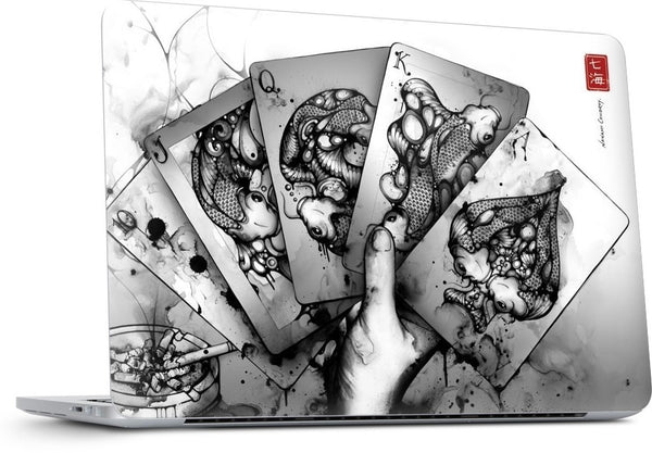 Royal Flush MacBook Skin