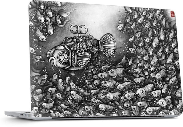 Mothership MacBook Skin