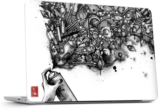 Ink Pond MacBook Skin