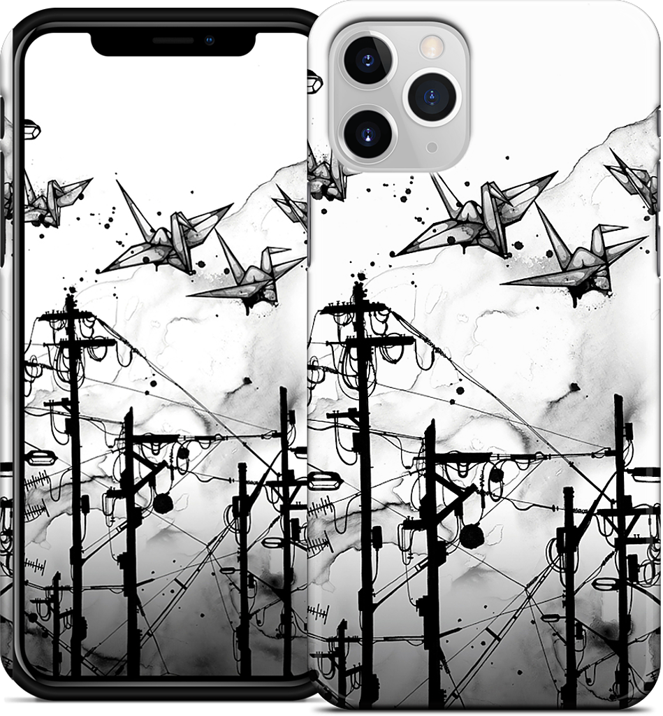 Cable Cranes iPhone Case
