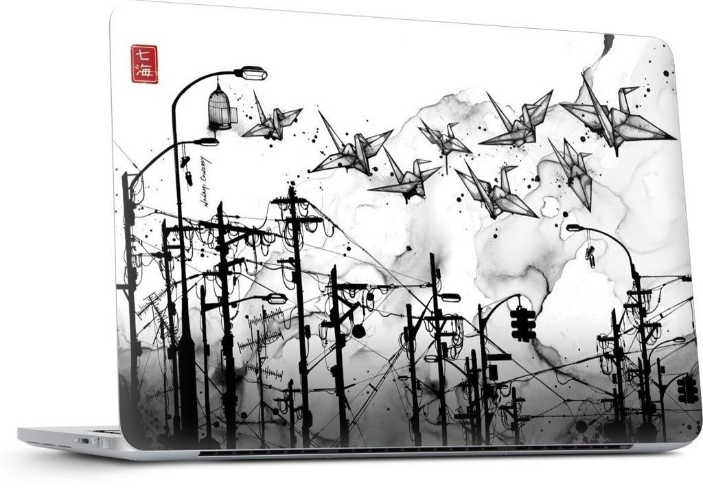 Cable Cranes MacBook Skin