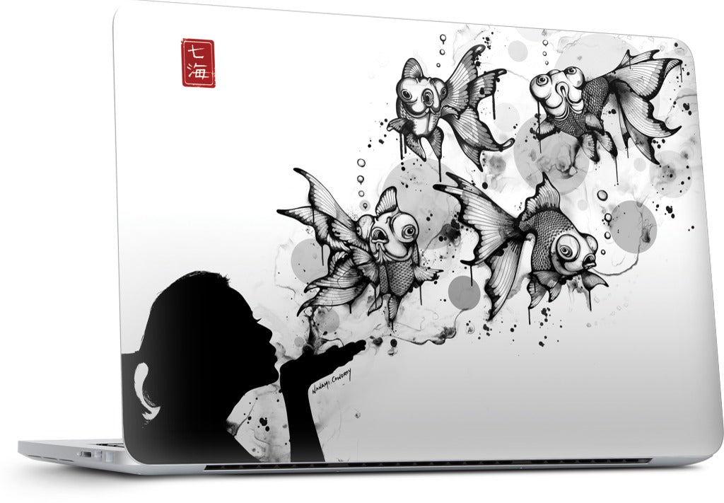Blow Fish MacBook Skin
