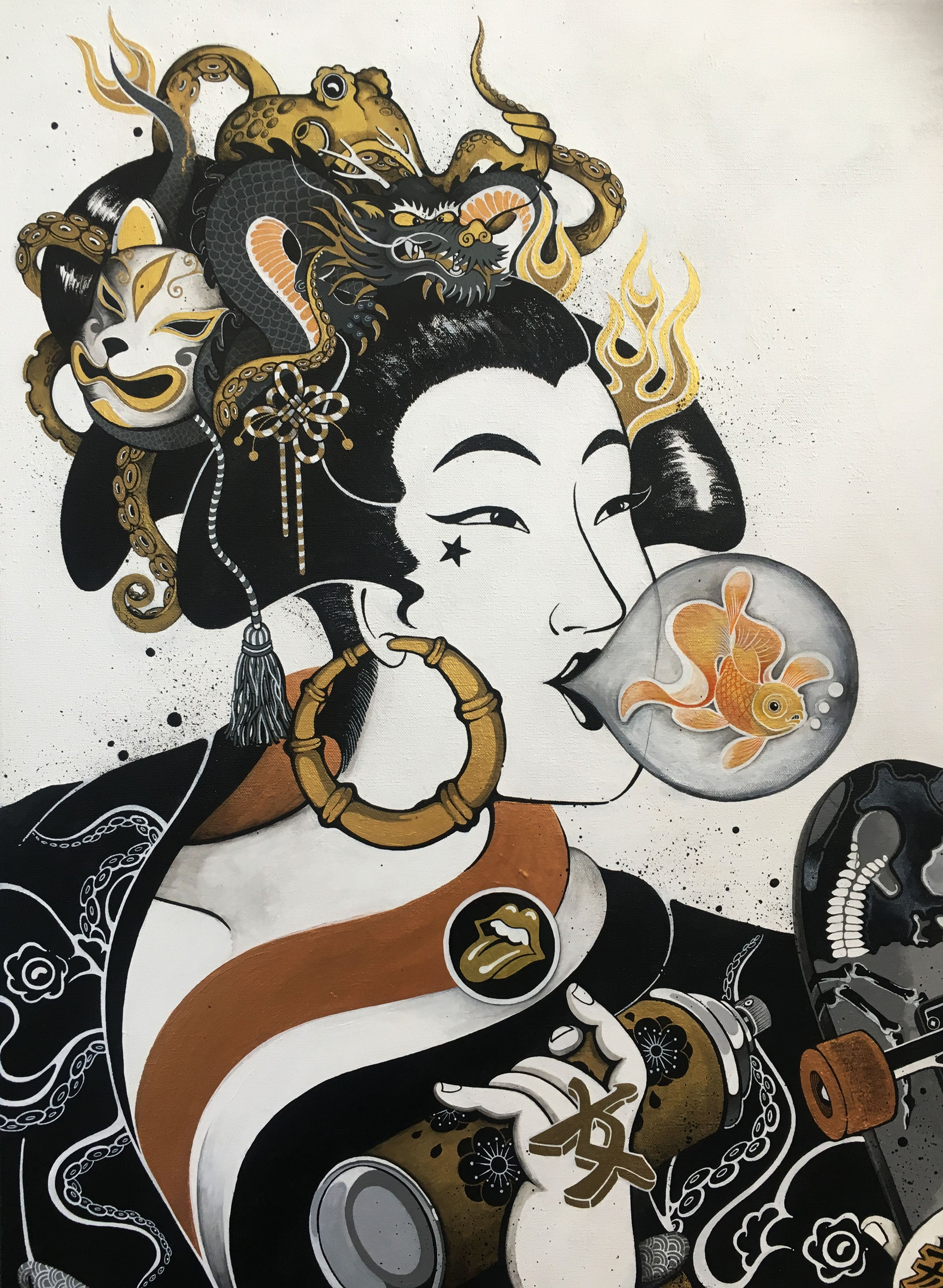 Onna-Bugeisha (Female Warrior)