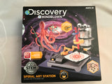 Discovery Mindblown Robot Spiral Art Station Kit W Multicolor Markers - Clarissa Maxwell