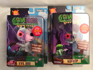 FINGERLINGS GRIMLINGS LOT OF 2 Evil Gigi Hip Hop BRAND NEW - Clarissa Maxwell