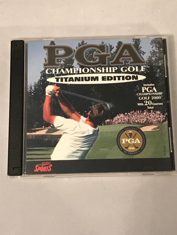 PGA Championship Golf 2000 PCDVD Big Box PC Game - Clarissa Maxwell