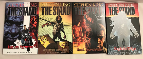 STEPHEN KING THE STAND MARVEL HARD COVER COMIC 4 BOOKS - Preowned - Clarissa Maxwell