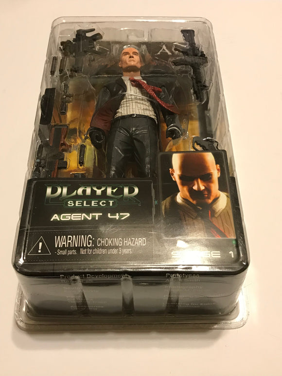 NECA Hitman Player Select Series 1 Agent 47 Action Figure [Dark Suit] - Clarissa Maxwell