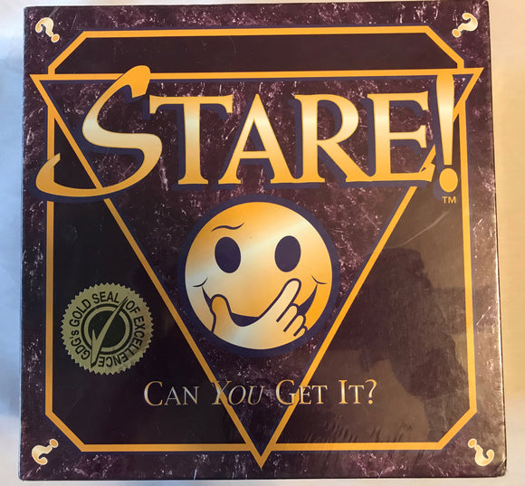 STARE Board Game - Gold Seal Of Excellence - Clarissa Maxwell