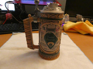"Yankee Stadium Longton Crown Stein ""Turn Back the Clock"" W/ Certification - Clarissa Maxwell"