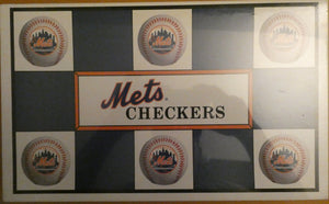 NY Mets Checkers 1997 Board Game Genuine MLB Merchandise - Brand New - Clarissa Maxwell