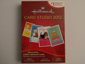 Hallmark Card Studio 2012 Greeting Card Software Personalize Cards Bonus software - Clarissa Maxwell