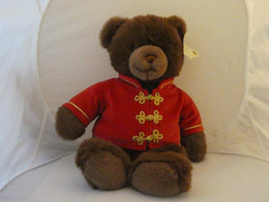 "2001 GUND 21"" Soldier Teddy Bear Lord & Taylor Red Jacket Christmas Nutcracker - Clarissa Maxwell"