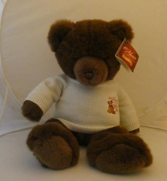 Lord and Taylor 100th anniversary Plush Bear NWT 2002 collectors edition Gund - Clarissa Maxwell