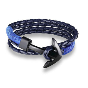Anchor bracelet 2.1 Edition - Black and Blue - Clarissa Maxwell